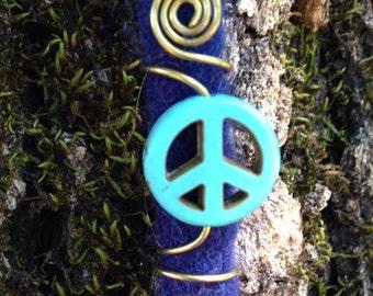 Peace Dread Bead