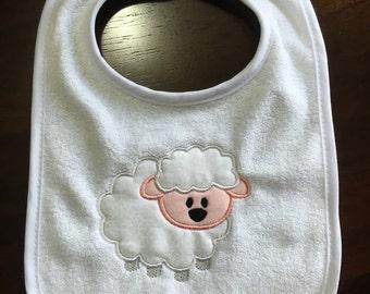 Personalized Bib or Burp Cloth