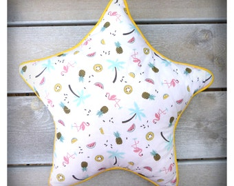 Cushion / range Pajamas Florida star shaped