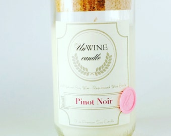 Pinot Noir - scented soy candle