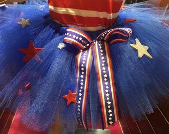 Fourth of July Stars Tutu
