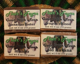 fruity goat milk soap