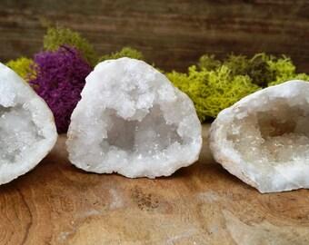 Crystal Quartz Geode ~ 528