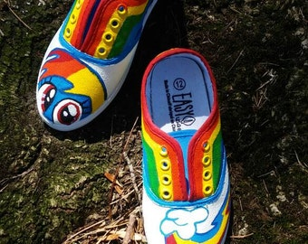 Rainbow Dash shoes