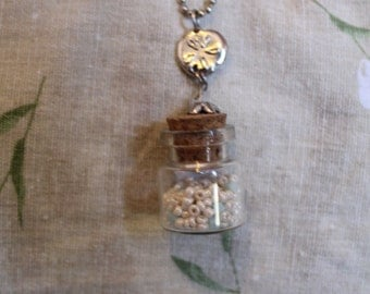 Beachy Bottle Necklace