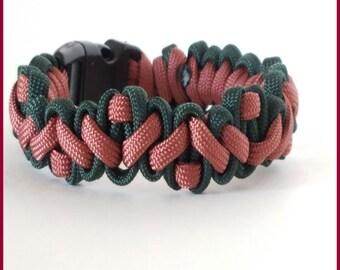 Navajo Pattern Survival Paracord Bracelet