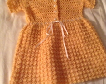 Beautiful Baby Peach Dress
