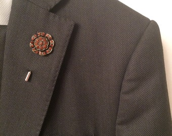 Men's Brooch Lapel Pin