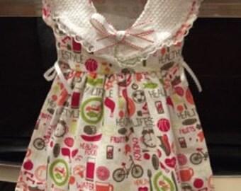 Oven Door Dress- Healthy Life Style