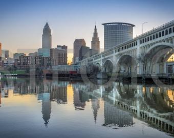 Morning--Cleveland, Ohio
