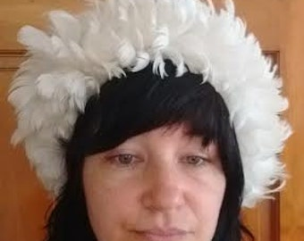 1960's feather hat