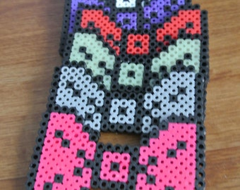 Wearable Pixelated Bead Sprite Bow Tie