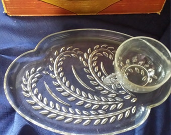 Homestead Snack Set by Federal Glass