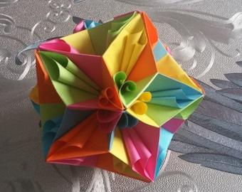 Origami: Kusudama curler