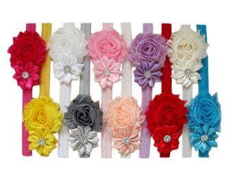 10 Chiffon Headband 10 colors
