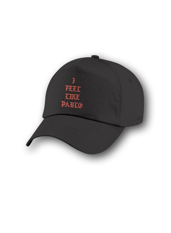 online store a6313 7a414 luxofbrand - I Feel Like Pablo, I Feel Like Pablo Cap, Pablo Hat, Black Cap,  Kanye West, Yeezy, Yeezus, The Life of Pablo, , Pop Up Tour Merch, Pablo.