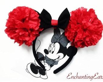 Flower Minnie Ears
