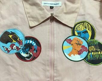 vintage comme des garcons jacket