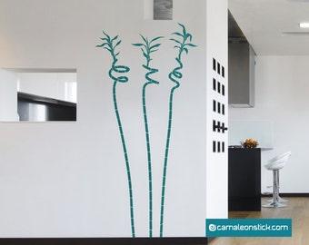 Bambu spiral-wall stickers-wall decal nature