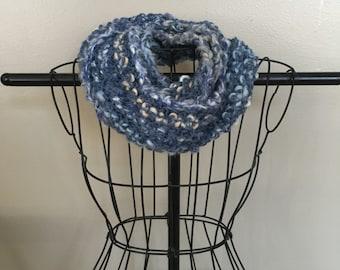 Blue Multicolor Scarf