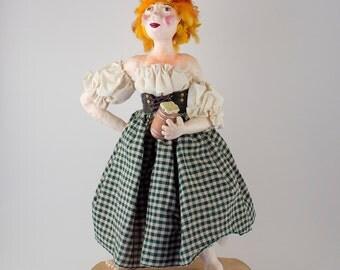 Barmaid Doll