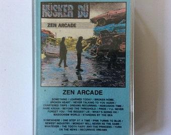 HÜSKER DÜ - Zen Arcade cassette (SST)