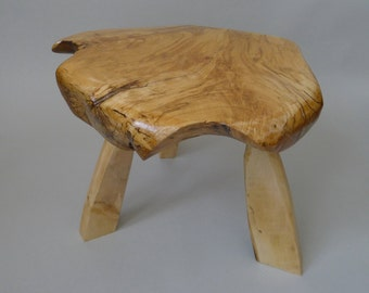 Wooden Stool Hand Crafted table