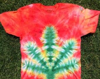 Leaf Tie Dye