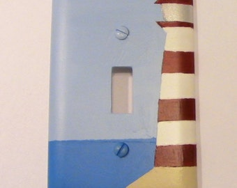 Lighthouse Light Switch Cover