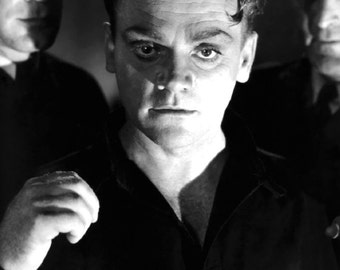 James Cagney White Heat Hollywood Film Star Glossy Black & White Photo Print Picture 7x5, 8x10, A4