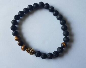 Ego and Fear Buddha bracelet