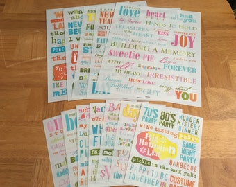 Scrapbooking Studio K Rub-on Transfers