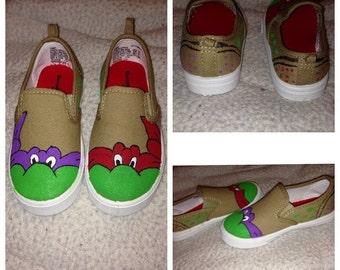 Custom Ninja Turtle Shoes