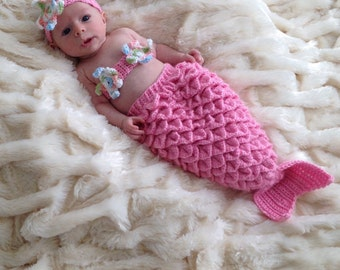 Baby Girl mermaid outfit