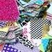 Pattern Grab Bag Lilly, Chevron, floral random patterns-6 Sheets random  -Patterned Vinyl / Heat Transfer Inspired Craft Cutter Vinyl Sheets
