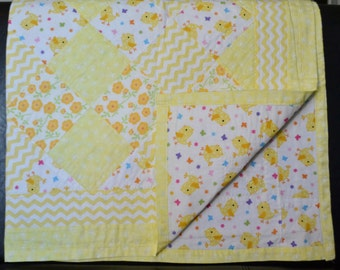 Yellow Chick Quilt
