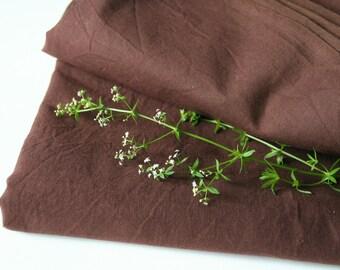 Flat sheet, Bed sheets, Bedding twin, Bedding set, Beach sheet, Chocolate brown