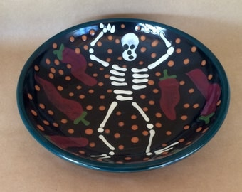 Day of the Dead Pie Plate