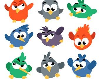 Cute Birds Designs