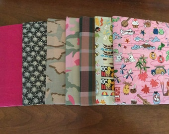 Fabric Notebook Covers