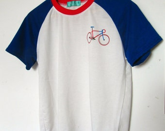 retro bicycle tshirt - graphic