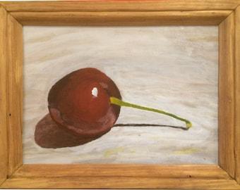 Cherry Study Painting