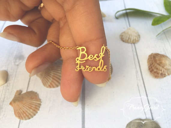 Best friend necklace, best friends, best friends gifts, gift to her, friendship jewelry, friendship jewels, birthday gifts
