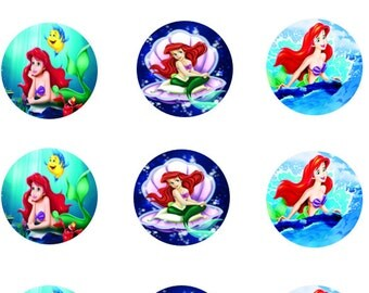 Little Mermaid Edible Images 2