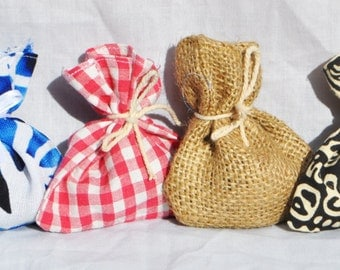 Drawer Sachets, Variety of different Patterns, Packs of 3