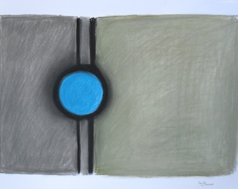 Inside (Pastels 24 x 17 inches)