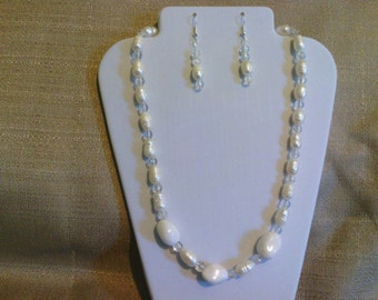 265 Lovely Genuine Freshwater Cultured Pearl Beaded Necklace