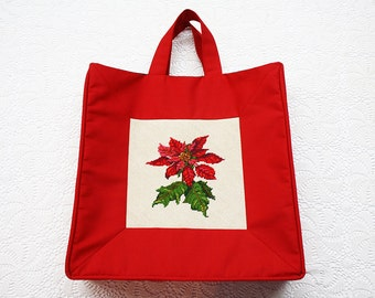 Totes, Tote Bags, Purses, Red Purses, Handbags, Red Handbags, Red Totes, Satchels, Red Satchels, Christmas Tote Bags, Christmas Handbags