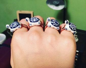 Royal Turtle Ring