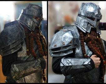 LARP Armor of Dwarf, fantasy, medieval